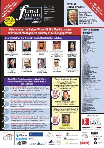 FundForum Middle East - John A. Sandwick