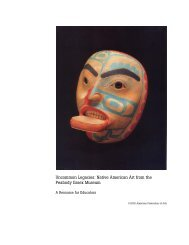 Native American Art Teachers Packet - American Federation of Arts