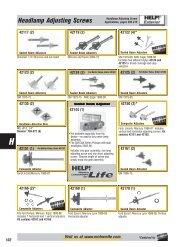 Headlamp Adjusting Screws - Dorman Products