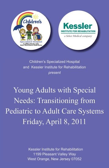 Young Adults with Special Needs: Transitioning from Pediatric to ...