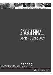 Consulta il libretto - Sardegna Cultura