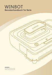 Winbot 7er-Serie Bedienungsanleitung - myRobotcenter