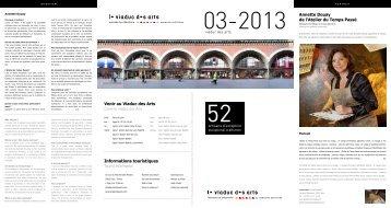 Mars 2013 - Viaduc des Arts