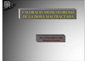 Presentació Dra. Remei Riera - Hospital de l'Esperit Sant