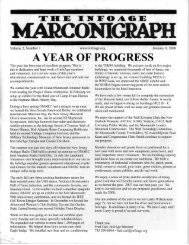 MARCONIGRAPH - The New Jersey Antique Radio Club