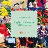 Daglig verksamhet broschyr - Östhammars kommun
