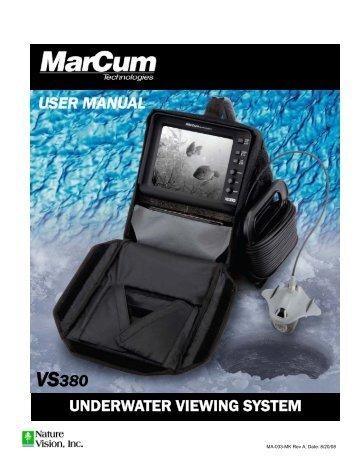 underwater viewing system vs380 user manual - Radioworld