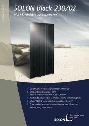 SOLON Black 230/02 - Elan Solar