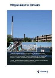 Udbygningsplan for fjernvarme - Grontmij