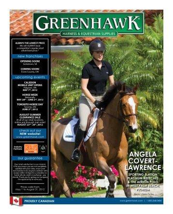 angela Covert- lawrenCe - Greenhawk