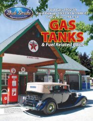 GAS TANkS - Bob Drake Reproductions,Inc.