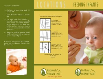 FEEDING INFANTS - NW Primary Care