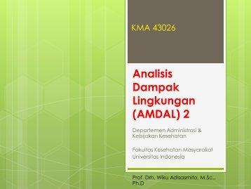 Analisis Dampak Lingkungan (AMDAL) 2 - Blog Staff UI - Universitas ...
