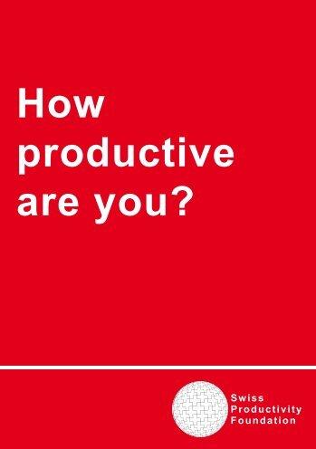 SPS - Stiftung Produktive Schweiz