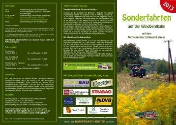 Sonderfahrten - Sächsische Semmeringbahn