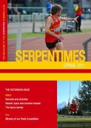 SPRING 2011 - Serpentine