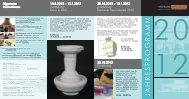 Jahresprogramm 2012 - Keramion