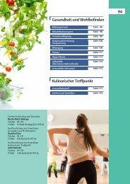 2013-2014 Gesundheit und Kulinarischer Treffpunkt