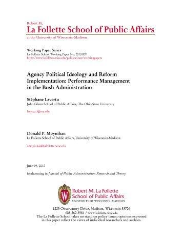 political ideology paper