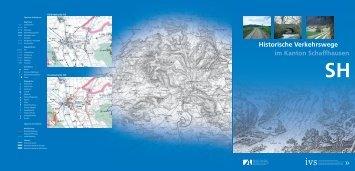 Historische Verkehrswege im Kanton Schaffhausen SH