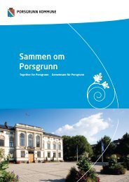 Byutvikling - det gode bosted - Porsgrunn kommune