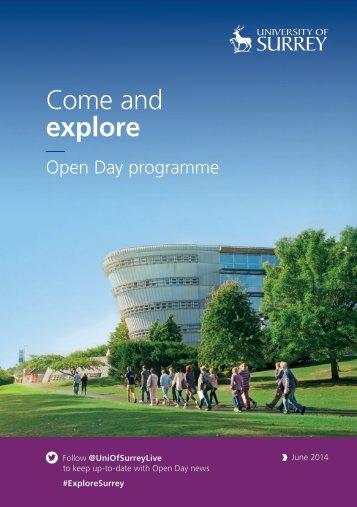 6688-0314 Open Day Programme June 2014_Web