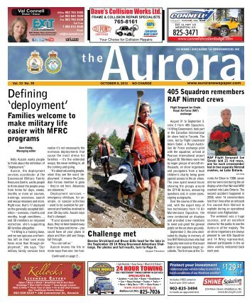 Oct 8 2012 - The Aurora Newspaper