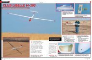 Club lIbelle H-205 - RC Sport Flyer Magazine