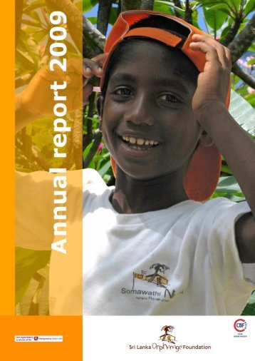 annual report 2009 - Stichting Weeshuis Sri Lanka