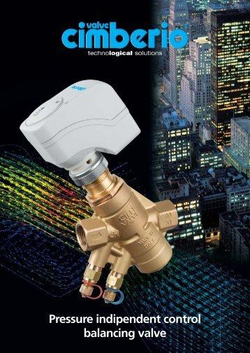 Cimberio 776 Pressure Independent Control ... - Alma Valves
