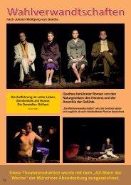 Wahlverwandtschaften - Theatergastspiele Kempf GmbH