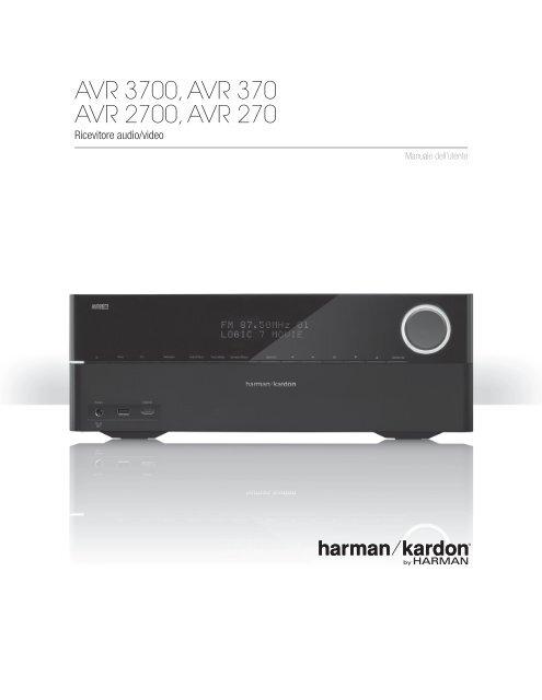 AVR 3700, AVR 370 AVR 2700, AVR 270 - Harman Kardon shop