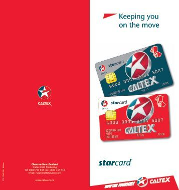 Keeping you on the move - Caltex