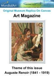 Art Magazine: Auguste Renoir