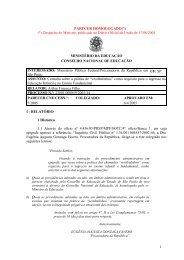 Parecer CNE/CEB nº 5/2005, aprovado em 6 de abril de 2005