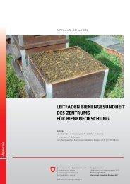 Leitfaden Bienengesundheit - Verein Hinterthurgauer Bienenfreunde