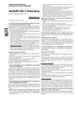 ratioSoft® 0,05 % Nasenspray - Online Apotheke mycare.at