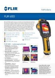 FLIR_b50.pdf - ORGLMEISTER Infrarot Systeme