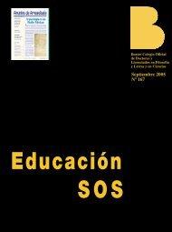 Septiembre 2005 Nº 167 - Colegio de Doctores y Licenciados