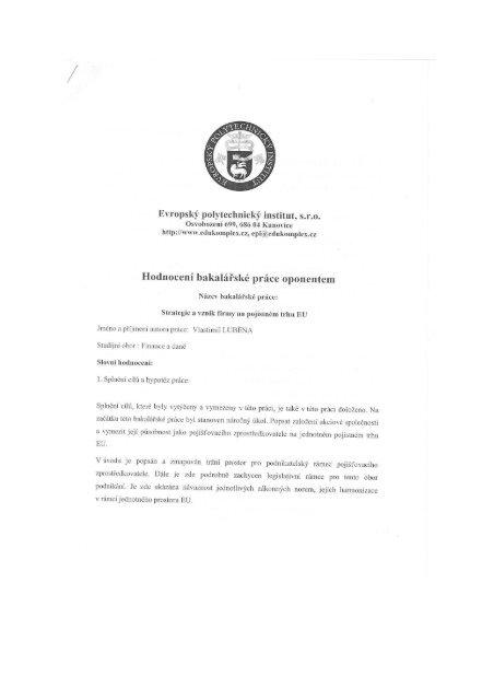 640_Posudek_Lubena_V.. - Evropský polytechnický institut