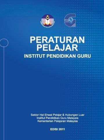 Buku Peraturan Pelajar IPG - Laman Web Rasmi IPGM Kampus ...