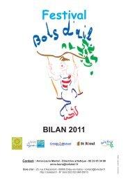 Bilan Festival Bols d'air 2011 - Site de la Mairie de Bonneuil en Valois