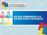Präsentation TOT2012.cdr - KGS Hemmingen