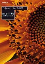 Projektoren Line-Up 2011 - ELVIA Display
