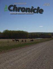 Chronicle June 2013 - Chortitzer Mennonite Conference