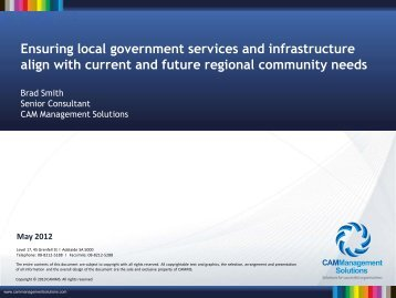 Ensuring local government services and infrastructure align with ...
