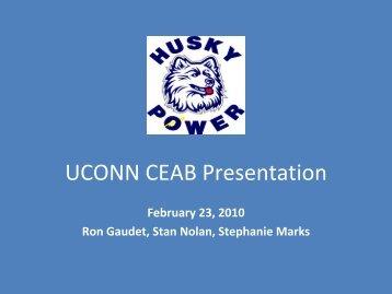 UCONN CEAB Presentation