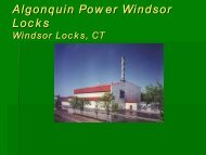 Algonquin Power Windsor Locks Windsor Locks, CT
