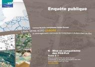 Le projet du canal Seine - Nord Europe traverse la plaine - Voies ...