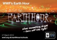 WWF's Earth Hour - WWF UK